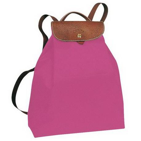Longchamp Le Pliage Backpack Fuchsia