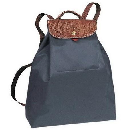 Longchamp Le Pliage Backpack Graphite