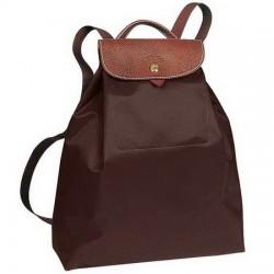 Plecak Longchamp Le Pliage Czekolada