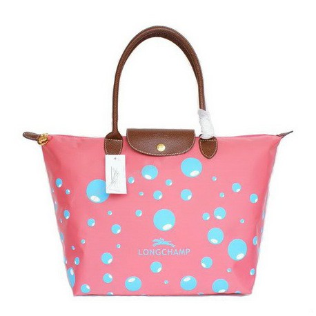 Torby Bańka Longchamp Różowe