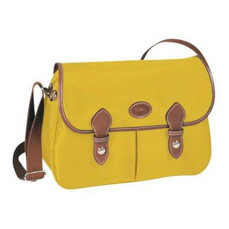 Torby na ramię Longchamp Le Pliage Żółty