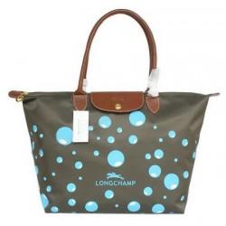 Longchamp Bubble Taschen Schiefergrau