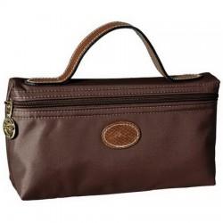 Longchamp kosmetické tašky Čokoláda