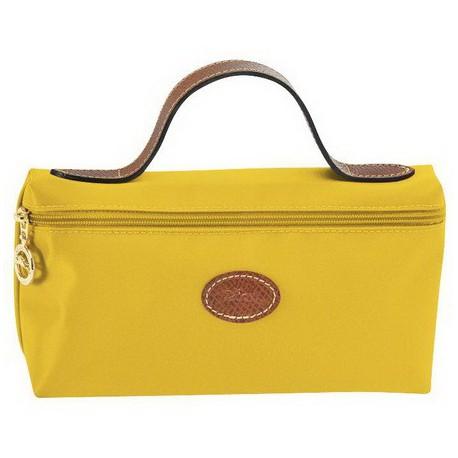 Longchamp Kosmetyk Torby Żółty