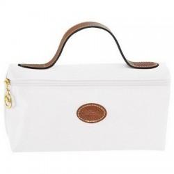 Longchamp Kosmetiktaschen Weiß