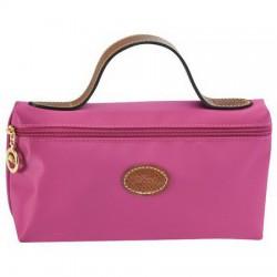 Longchamp kosmetická taška Fuchsie