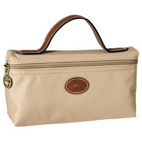 Longchamp Cosmetic Bags Beige