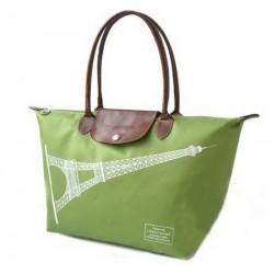 Longchamp Eiffelturm Taschen Grün