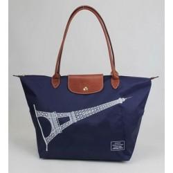 Longchamp Eiffelturm Taschen Indigo