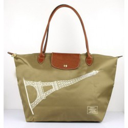 Longchamp Eiffelturm Taschen Khaki