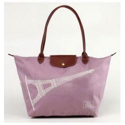 Longchamp Eiffelturm Taschen Lavendel