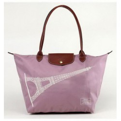Torby Lunch Longchamp Lavender