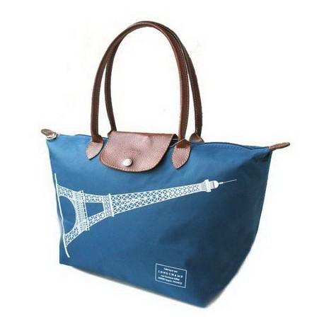 Longchamp Eiffelturm Brilliant Blau Taschen