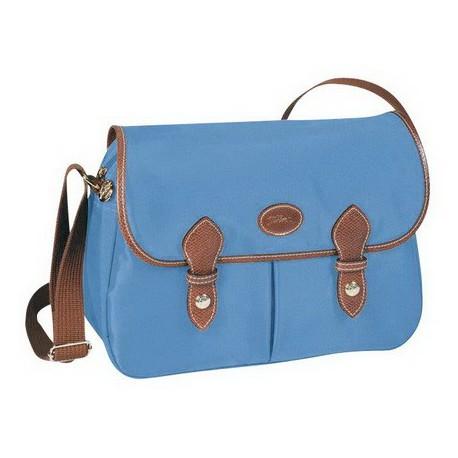 Longchamp Le Pliage Messenger Bags Lagoon