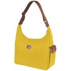 Longchamp Le Pliage Hobo Tasche Gelb