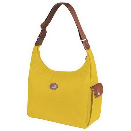 Longchamp Le Pliage Worek włóczęgi Żółty