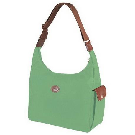 Longchamp Le Pliage Hobo Bag Palm Green