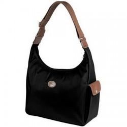 Longchamp Le Pliage Hobo Bags Black