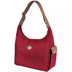 Longchamp Le Pliage Torby Hobo Czerwone