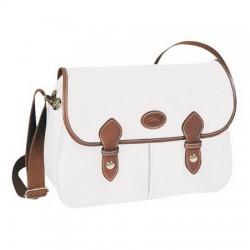 Longchamp Le Pliage Kuriertaschen Weiß