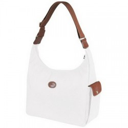 Longchamp Le Pliage Hobo Tasches Weiß