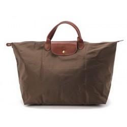 Longchamp Le Pliage Tragetaschen Khaki Beige