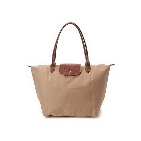 Longchamp Le Pliage Vozit Tašky Béžová Moye Prodej