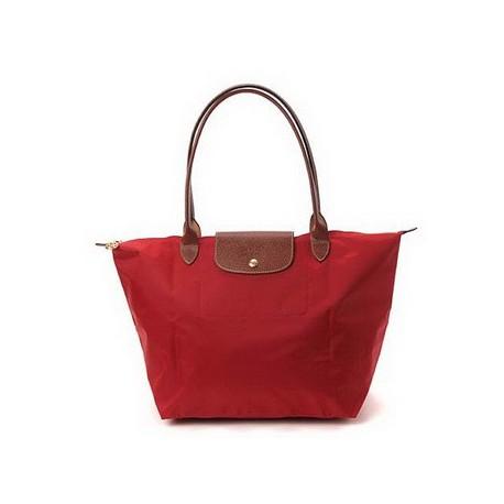 Longchamp Le Pliage Dźwigać Torby Rouge Sprzedaż