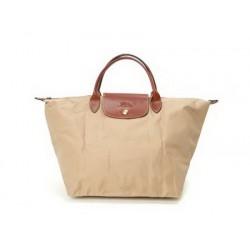 Longchamp Le Pliage Taschen Beige Moye Auslauf Online