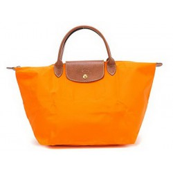 Longchamp Le Pliage Tragetaschen Orange Geschäft Verkauf