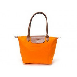 Torby na zakupy Longchamp Le Pliage Pomarańczowy Wylot Online