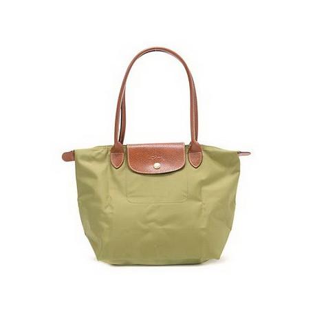 Longchamp Le Pliage Sacs fourre-tout Khaki Outlet Soldes