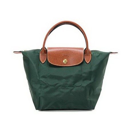 Longchamp Le Pliage Dźwigać Torby Zielony
