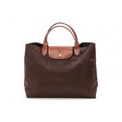 Longchamp Le Pliage Tragetaschen Schokolade Auslauf Online