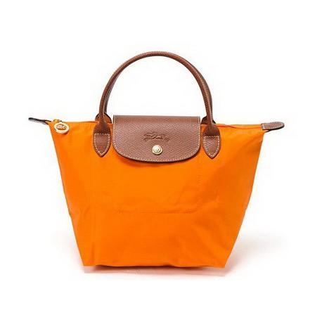Longchamp Le Pliage Tote Bags Orange Outlet Online