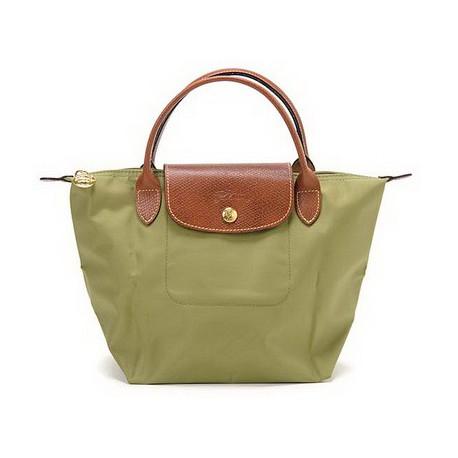 Longchamp Le Pliage Taschen Khaki Auslauf Verkauf