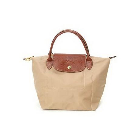 Longchamp Le Pliage Tote Bags Beige moye Store Sale