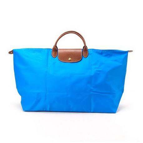 Torby na ramię Longchamp Le Pliage Xl Niebieski