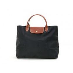 Longchamp Le Pliage Dźwigać Torby Czarny Wylot