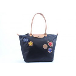 Longchamp Le Pliage Liebe Taschen MidiumBlau