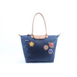 Longchamp Le Pliage Liebe Taschen Royalblau