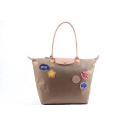 Longchamp Le Pliage Liebe Taschen Beige