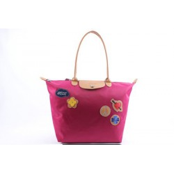 Longchamp Le Pliage Miłość Torby VioletCzerwony