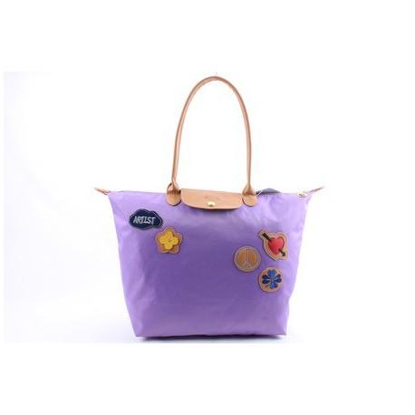 Longchamp Le Pliage Miłość Torba Orchid