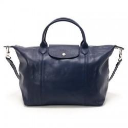 Cestovní tašky Longchamp Modrý
