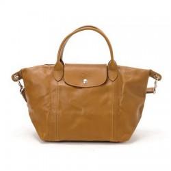 Cestovní tašky Longchamp Camel