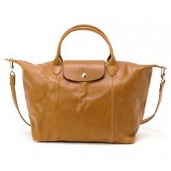 Cestovní tašky Longchamp Camel Prodej