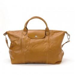 Longchamp cestovní tašky Camel na prodej