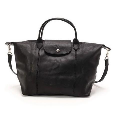 Cestovní tašky Longchamp Černá Výstup