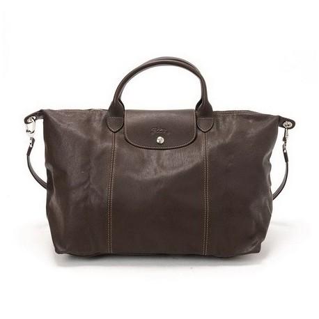 Cestovní tašky Longchamp Taupe Výstup
